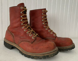 Vintage Red Wing Irish Setter Boots Sz 9.5 9 1/2 D 31012