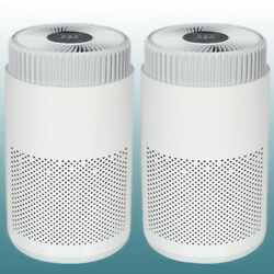 Two Air Purifier Hepa Filter Ionizer Uv Pro Ions Breeze Fresh Home Air Cleaner