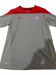Preowned Nike Drifit Usa Soccer Youth Jersey Size Xl
