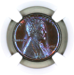 1916-s Ms65 Bn Ngc Lincoln Wheat Penny Registry Quality Collection
