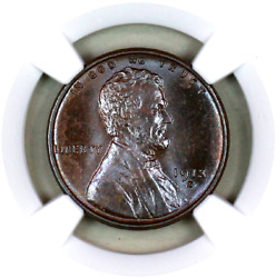 1913-s Ms64 Bn Ngc Lincoln Wheat Penny Registry Quality Collection