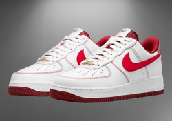 Nike Air Force 1 And03907 Shoes White University Red Da8478-101 Menand039s Multi Size New