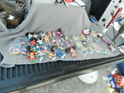Vintage Cabbage Patch Kids Pvc And Plastic Figures Lot Of 49 Some Nos Estate Find