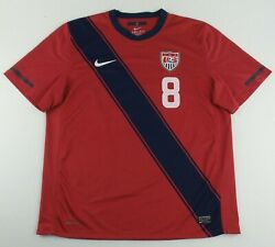 Authentic Nike 2010 Team Usa National Team Clint Dempsey Soccer Jersey Size Xl