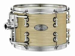 Pearl Music City Custom 14x12 Reference Pure Tom Drum Platinum Gold Oyster Rfp14