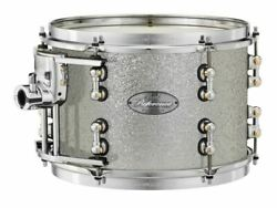 Pearl Music City Custom Reference Pure 18x16 Bass Drum W/ Mount Classic Silver S