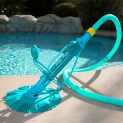 Automatic Swimming Pool Vacuum Cleaner Above Ground Inground Complete Set Tool