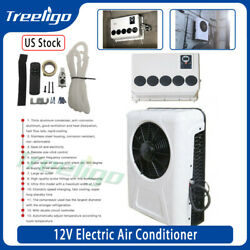 Universal 960w 12v Mini Electric Air Conditioner A/c Fit For Trunks Bus Van Rv