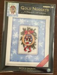 Dimensions Gold Nuggets Gifts In The Snow Cross Stitch Kit 8718 Sealed