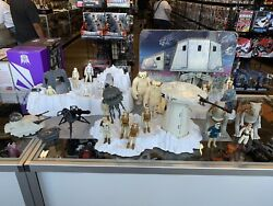 Star Wars Vintage Hoth Playset Tauntaun Wampa Lot W Figures And Extras Imperial