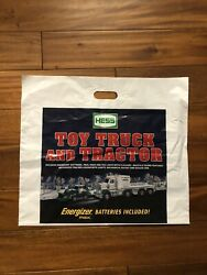 2013 Hess Toy Truck And Tractor Logo-ed Plastic Shopping Bag