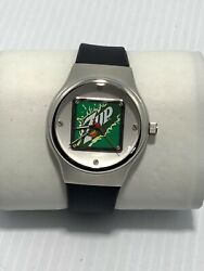 7up Collectible Advertising Promotional Watch New Battery