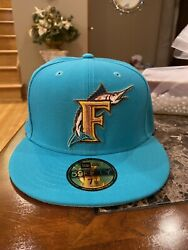 Florida Marlins 59fifty Hat 7 1/2 Myfitteds Harry Potter Collection