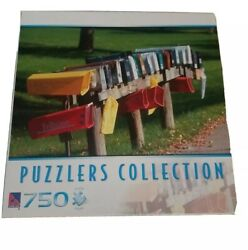 Puzzlers Collection Rural Mailboxes 750 Piece Puzzle New