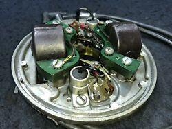 Evinrude 6hp Outboard Ignition Magneto Assembly Armature Plate Oem 0580582