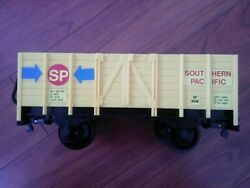 Echo The Classic Rail Train Yellow Caboose Freight Car G Scale Toy Train Sp6550