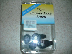 Rv And Trailer - Shower Latch Replacement Kit - Keeps Door Secured - Black - New