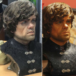 Game Of Thrones Tyrion Lannister 11and039and039 Bust Statue Resin Model Figure Display