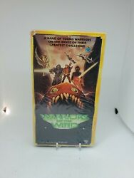 Sealed New Warriors Of The Wind Vhs Rare 1990 Starmaker Video Anime Miyazaki