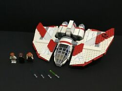 Lego Star Wars 7931 Jedi Shuttle 100 Complete No Manual 2011 Updated