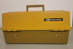 Vintage Plano 8106 Tackle Box - Good Condition - 6 Trays And Lots Of Storage