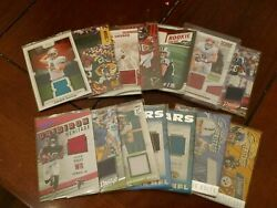 Nfl Patch/jersey/memorabilia Cards. You Pick The Card. Random Years And Players