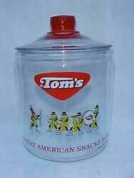 Vintage Tomand039s Peanut Marching 2003 Band Jar And Box Toms Lance Store Gordons