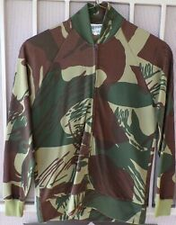 Rhodesian Army Brush Stroke Camo Track Suit- Jacket And Pants - Mint