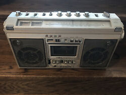 Pioneer Sk-31 Boombox Radio Cassette Player Made Taiwan Not Working - Poor