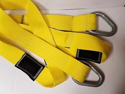 2 Boat Lifting Slings/lifting Straps 4 X 14and039 W/12800 Lbs. Lift Capacity Each