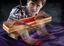 Harry Potter Wands Replica Ollivanders Wand Box Set Harry Hermione And Ron Weasley