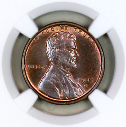 1919-s Ms65 Bn Ngc Lincoln Wheat Penny Registry Quality Collection