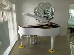 Andpound162 / Month - White Gloss Digital Baby Grand Piano Conversion