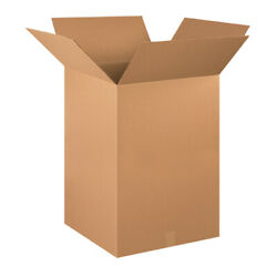 Corrugated Boxes 20 X 20 X 30 Ect-32 Brown Shipping/moving Boxes 100 Pieces