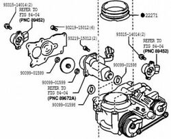 Toyota Genuine 22030-70022 Throttle Body Assy And Position Sensor Altezza Crown