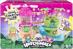 Hatchimals Colleggtibles Tropical Party Playset Exclusive Lights Up Season 4 New