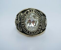 Ring Solid 10k Gold Ring 101st Airborne Division Ring Us Size 8.5