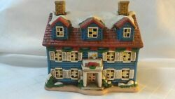Lefton Colonial Christmas Village The Welcome Home 05824 Holiday 1986 C2