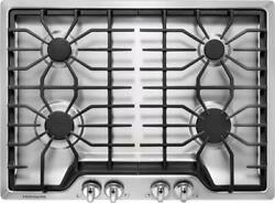 Frigidaire Ffgc3026ss 30 Inch 4 Sealed Burners Cast Iron Grates Gas Cooktop