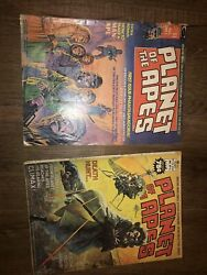 Planet Of The Apes 1 And 16 Read Copies. Marvel Comic Magazine Aug.1974
