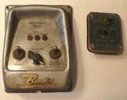 Vintage Boat Parts Early Bendix Marine Automatic Pilot Covers 1950s