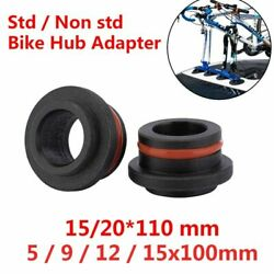 Bicycle Front Fork Hub Adapters 5/9/12/15x100mm 15x110mm Carrier Adapters Bike