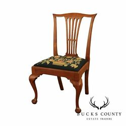 18th Century Antique American Mahogany Queen Anne Side Chair