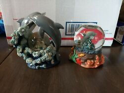 Small Dolphin Snow Globes
