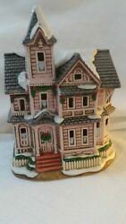 Lefton Colonial Christmas Village 00716 The Kirby House 1992 Deed C2
