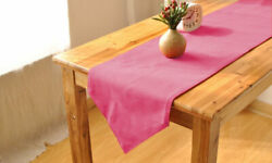 100 Egyptian Cotton 600-tc 1 Piece Triangle Table Runner Solid All Size And Color