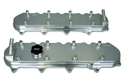 68494 Valve Cover Billet Fits/for Gm Ltcoil Mn 10an Ports