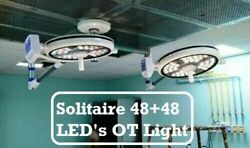 Double Satellite Operation Theater Operating Lamp Examination And Surgical Led Lig