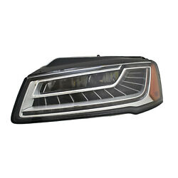 Au2518109 New Replacement Driver Side Headlight Lens And Housing, Led