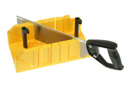 Stanley Sta120600 Clamping Mitre Box And Saw
